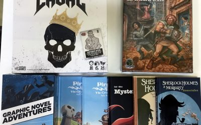New Kickstarter Arrivals and a Note About Preorders