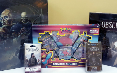 Thank Gaming It's Friday! We have new stuff!