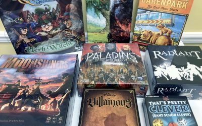 New Games! Hot Expansions! Exclusive Kickstarters! Wow!