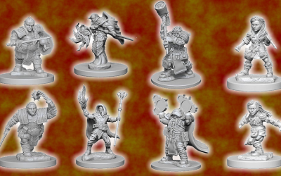 12 Sales 'til Christmas for Sunday, Dec 22 features fantasy RPG miniatures at 20% off! But you need the secret phrase!