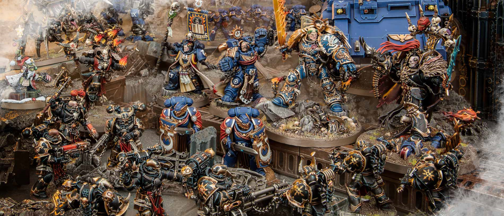 12 Sales 'til Christmas for Tuesday, Dec 17 features Games Workshop books and models! But you need the secret phrase!