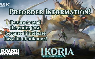 MtG Ikoria: Lair of Behemoths Preorder Information